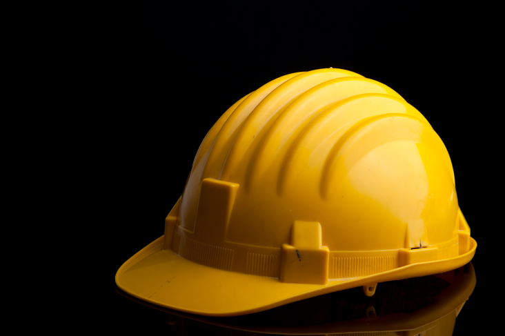 industrial electrical safety hardhat