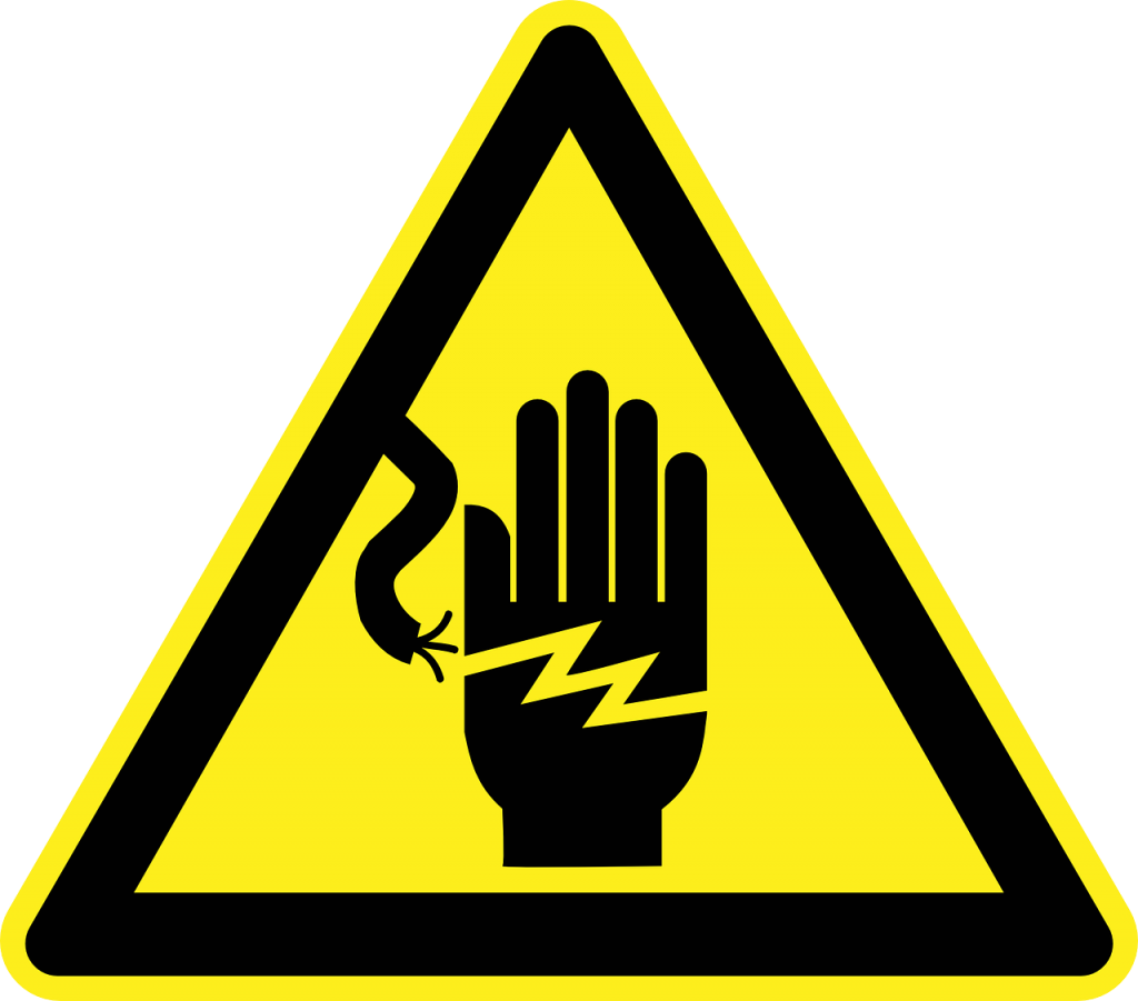 warning sign electricity
